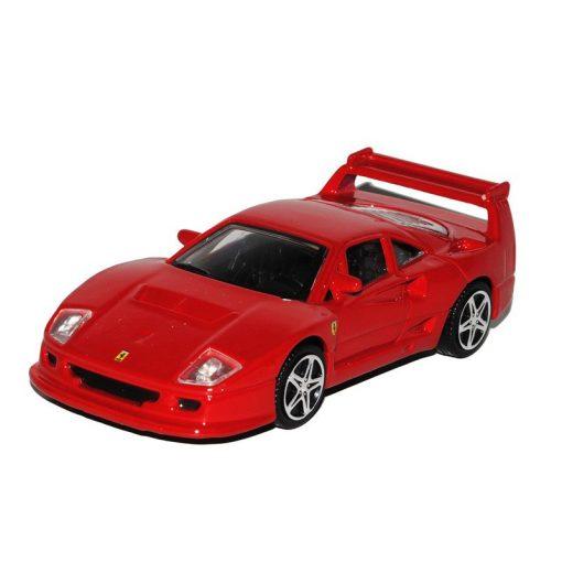 Auto modelo, Ferrari F40, Rojo, 1:43, 2018